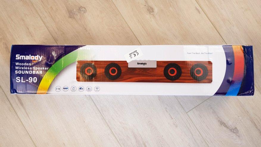 TomTop: Smalody SL-90H: недорогой Bluetooth-саундбар или портативная акустика?