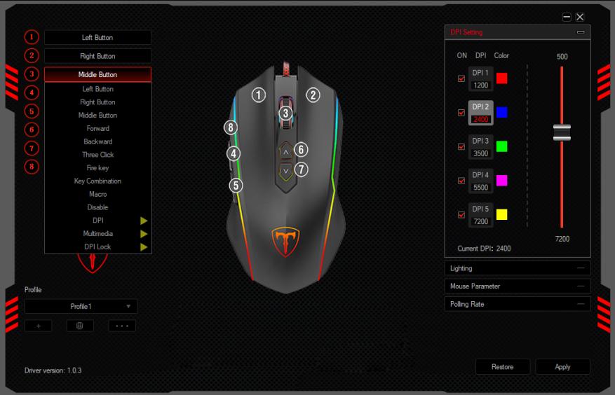Обзор VicTsing T16: игровая мышь