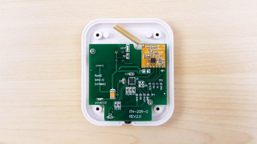 Inkbird ITH-20R: ترمومتر رقمي ومقياس رطوبة مع مستشعرات عن بعد للقياسات الداخلية والخارجية 30