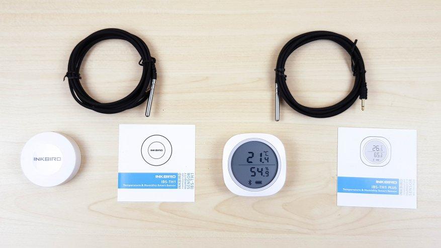 Inkbird IBS-TH1 plus: термометр и гигрометр Bluetooth