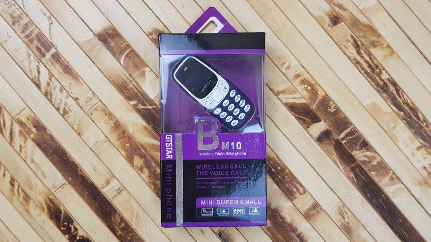 AliExpress: Самый маленький телефон в мире L8star BM10. Рубрика ДИЧЬ