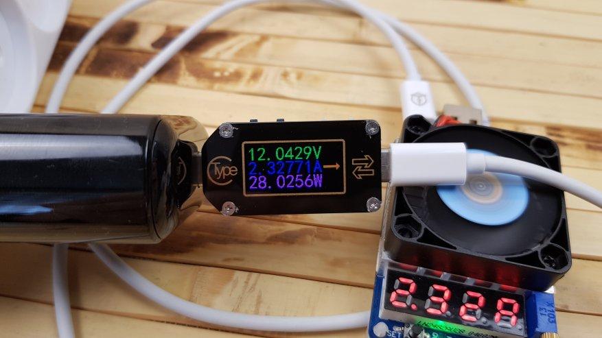 AliExpress: Зарядное устройство Uslion: 18 Вт PD 3.0, поддержка QC 3.0/AFC/FCP и информационный LED-экран