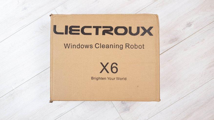 Роботизированный мойщик окон Liectroux X6: будущее уже наступило - отзывы