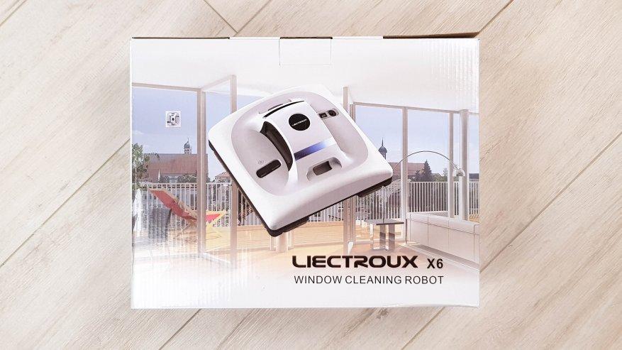Роботизированный мойщик окон Liectroux X6: будущее уже наступило - купить