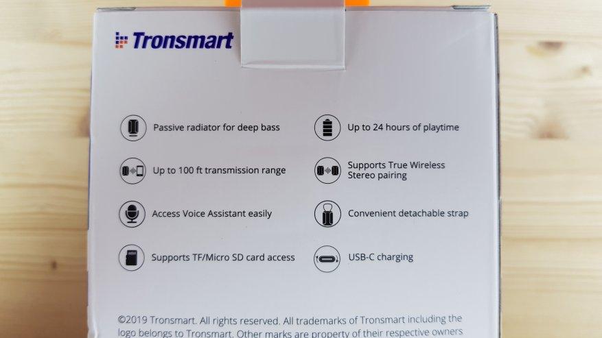 Tronsmart Element T6 Mini: مكبر صوت بلوتوث مدمج 2