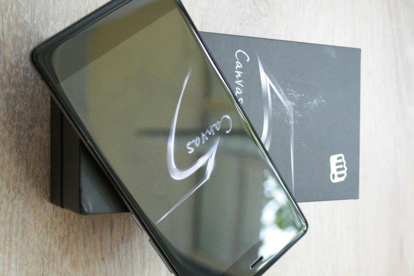 72be7c0d1b404 ... смартфон Canvas 5 E481. Аппарат получил топовый Full HD дисплей с  разрешением 1920 на 1080 пикселей, резвый восьмиядерный процессор и широкий  спектр ...