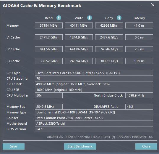 أداء لعبة i9-9900K في أوضاع مختلفة 3