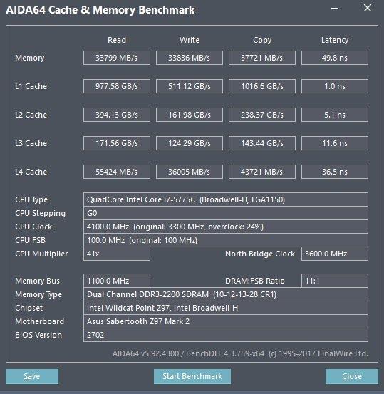 أداء لعبة i9-9900K في أوضاع مختلفة 8