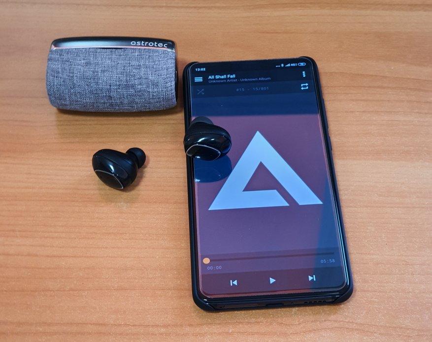 سماعات الرأس اللاسلكية Astrotec S80 Bluetooth مع التحكم باللمس 21