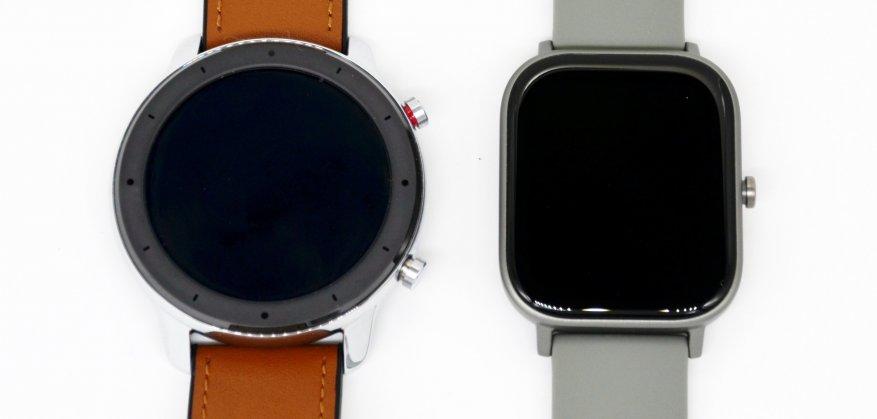 الانطباعات الأولى للمنتج الجديد: مقارنة ساعات Xiaomi Amazfit GTS الذكية مع Xiaomi Amazfit BIP و Amazfit GTR 53
