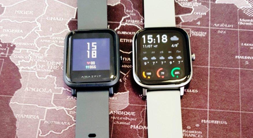 الانطباعات الأولى للمنتج الجديد: مقارنة ساعات Xiaomi Amazfit GTS الذكية مع Xiaomi Amazfit BIP و Amazfit GTR 47