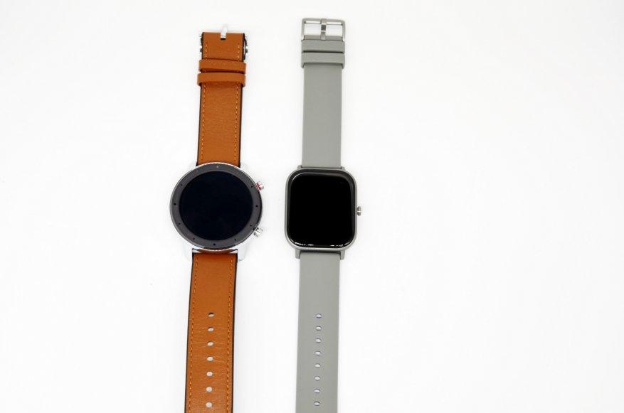 الانطباعات الأولى للمنتج الجديد: مقارنة ساعات Xiaomi Amazfit GTS الذكية مع Xiaomi Amazfit BIP و Amazfit GTR 52