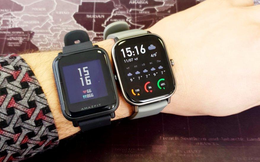 الانطباعات الأولى للمنتج الجديد: مقارنة ساعات Xiaomi Amazfit GTS الذكية مع Xiaomi Amazfit BIP و Amazfit GTR 48