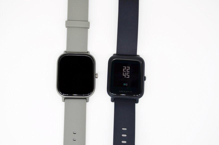 الانطباعات الأولى للمنتج الجديد: مقارنة ساعات Xiaomi Amazfit GTS الذكية مع Xiaomi Amazfit BIP و Amazfit GTR 40