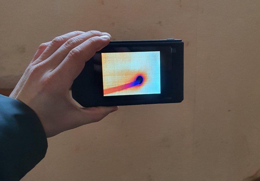 Seek Thermal Shot Pro: أفضل تصوير حراري مستقل عالي الدقة صغير الحجم 12