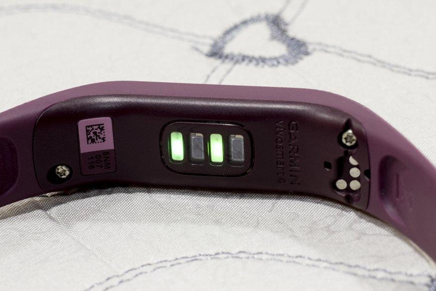 garmin vivosmart 4 датчик пульса и уровня кислорода