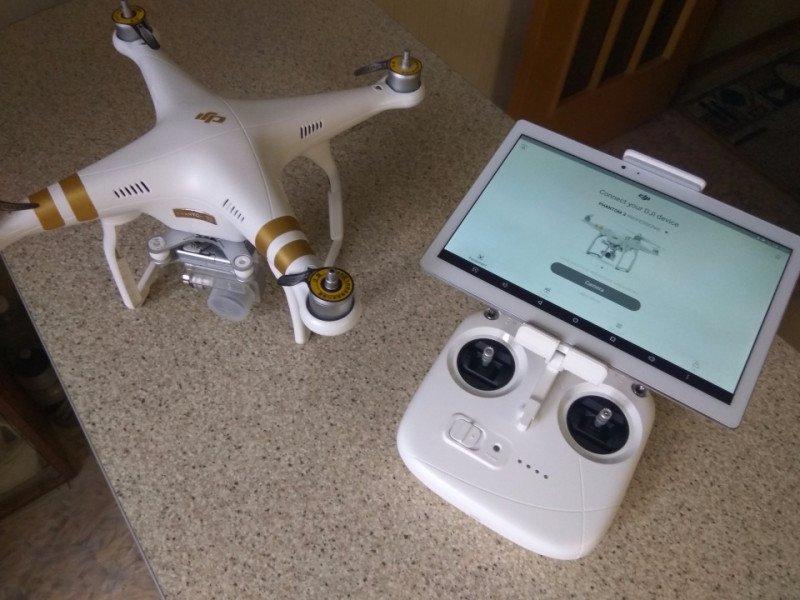 Кронштейн планшета android (андроид) для квадрокоптера dji солнцезащитный экран для коптера phantom 4 pro