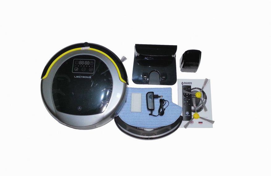 ميزانية متقدمة: المكنسة الكهربائية الروبوتية Liectroux B6009 مع ميزات مثيرة للاهتمام 1