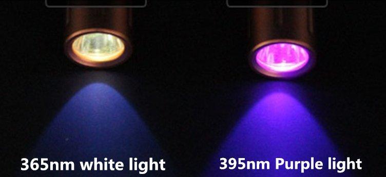 ضوء فوق بنفسجي لفحص الأوراق النقدية: 365 نانومتر حقيقي مقابل 4 دولارات؟ 23