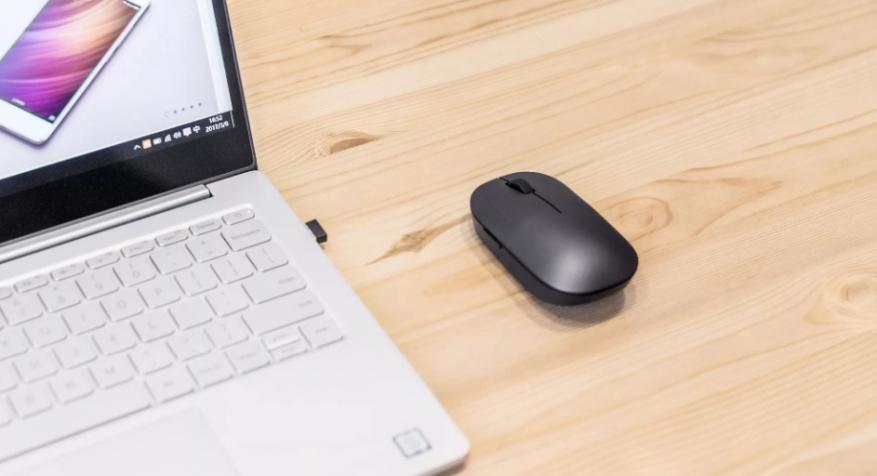 Xiaomi предлагает мышку сосканером отпечатков пальцев
