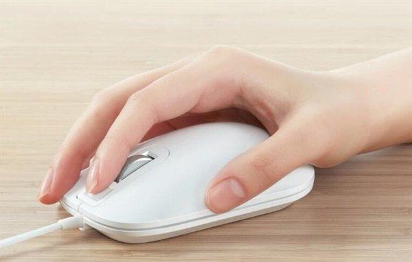 Бренд Xiaomi предложил мышь сосканером отпечатков пальцев
