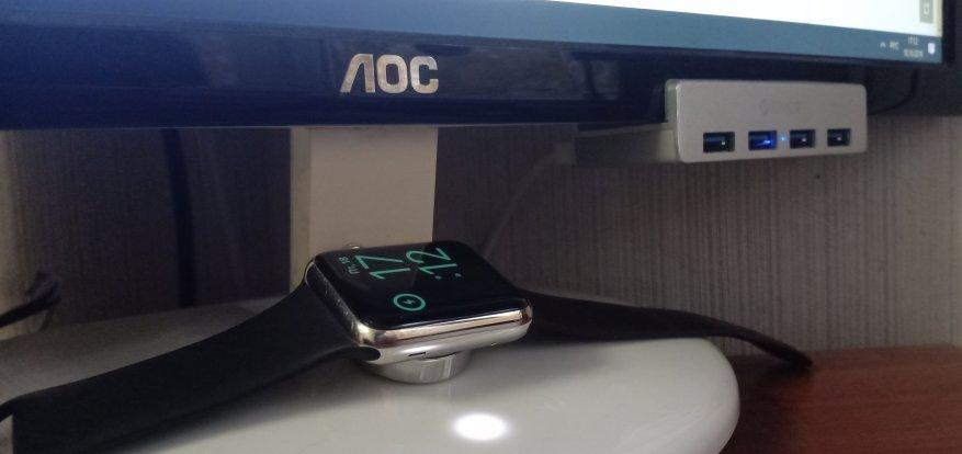USB Orico 3.0 Hub  Splitter: Clip chất lượng cho màn hình hoặc máy tính để bàn của bạn! 3