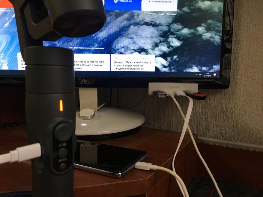 USB Orico 3.0 Hub  Splitter: Clip chất lượng cho màn hình hoặc máy tính để bàn của bạn! 5