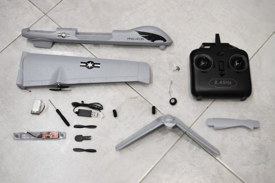 Блог им. Julyashka: Неигрушечный беспилотник: скоростной Predator Z51 с пунктиком на возраст 14+