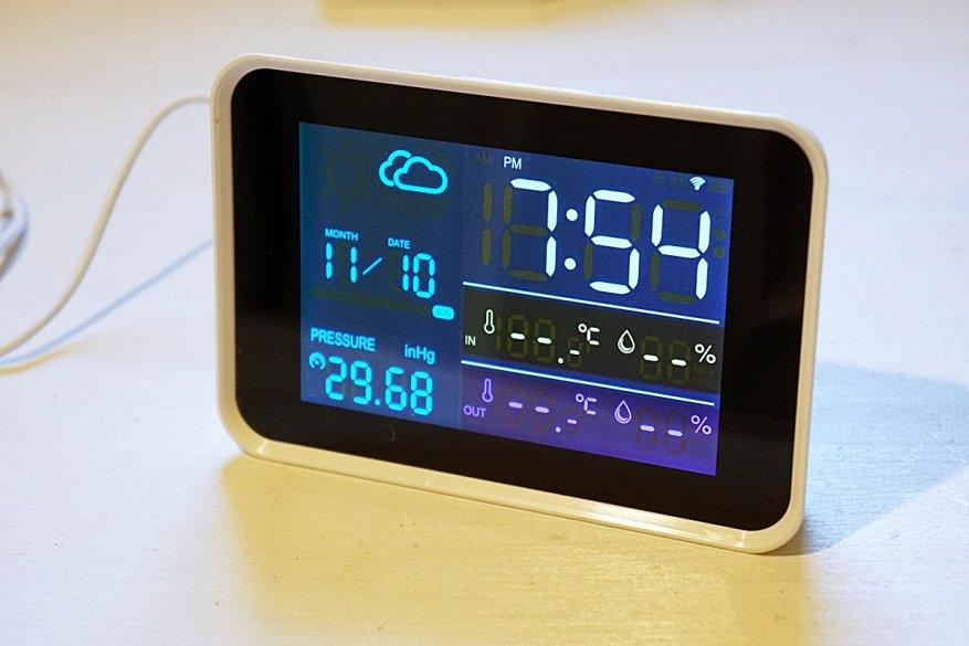 17 simsiz sensorlu Igeress WP6850 hava stansiyası