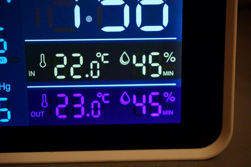 27 simsiz sensoru olan Igeress WP6850 hava stansiyası