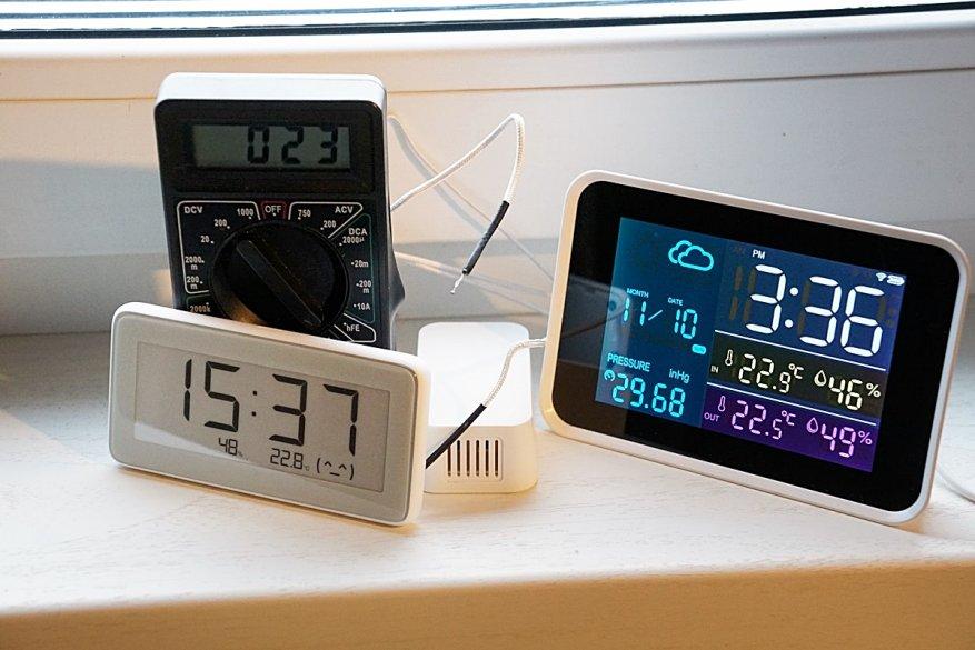 28 simsiz sensorlu Igeress WP6850 hava stansiyası