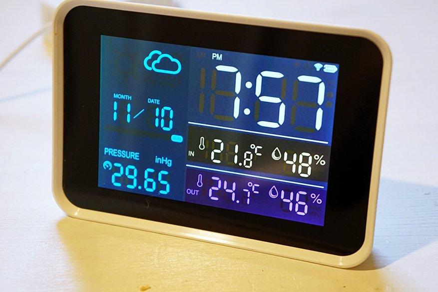 18 simsiz sensorlu Igeress WP6850 hava stansiyası