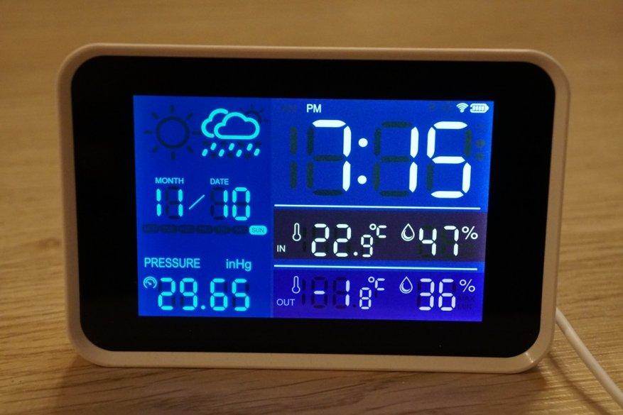 29 simsiz sensorlu Igeress WP6850 hava stansiyası