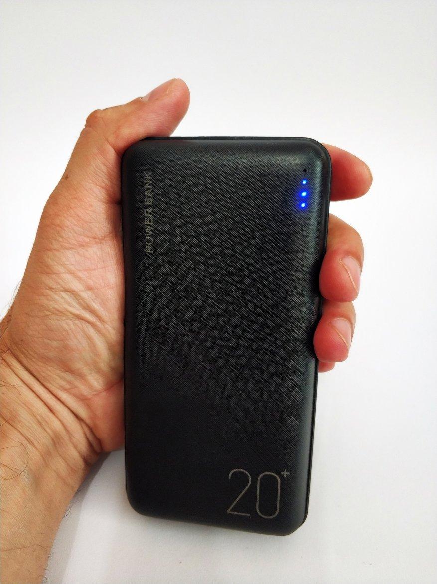 Floveme Portable Power Bank 20000 mAh Batería 14