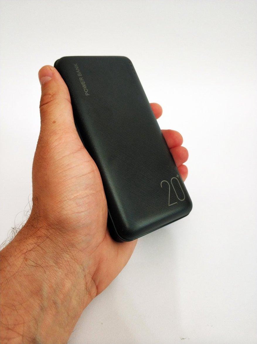 Floveme Portable Power Bank 20000 mAh Batería 12
