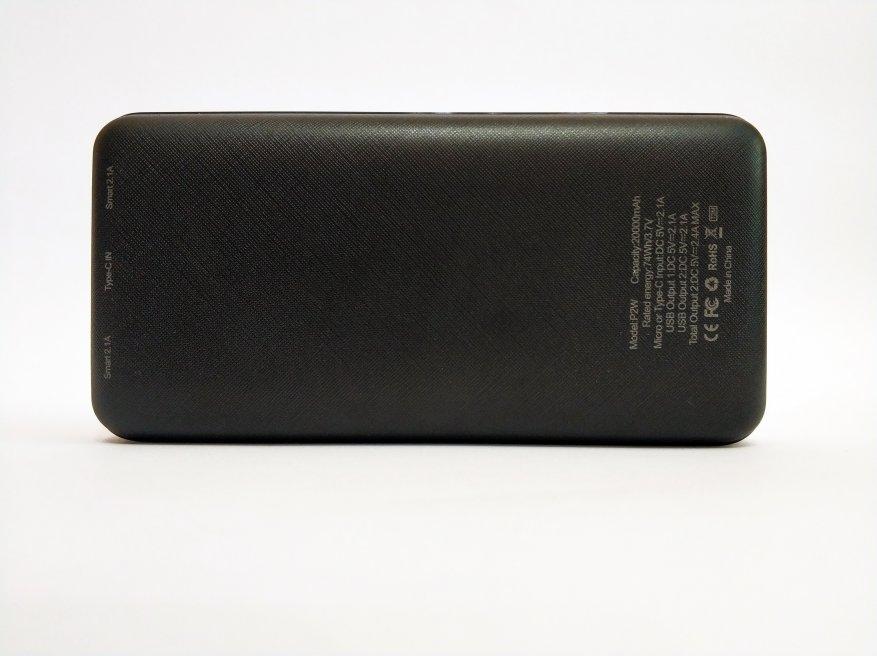 Floveme Portable Power Bank 20000 mAh Batería 9