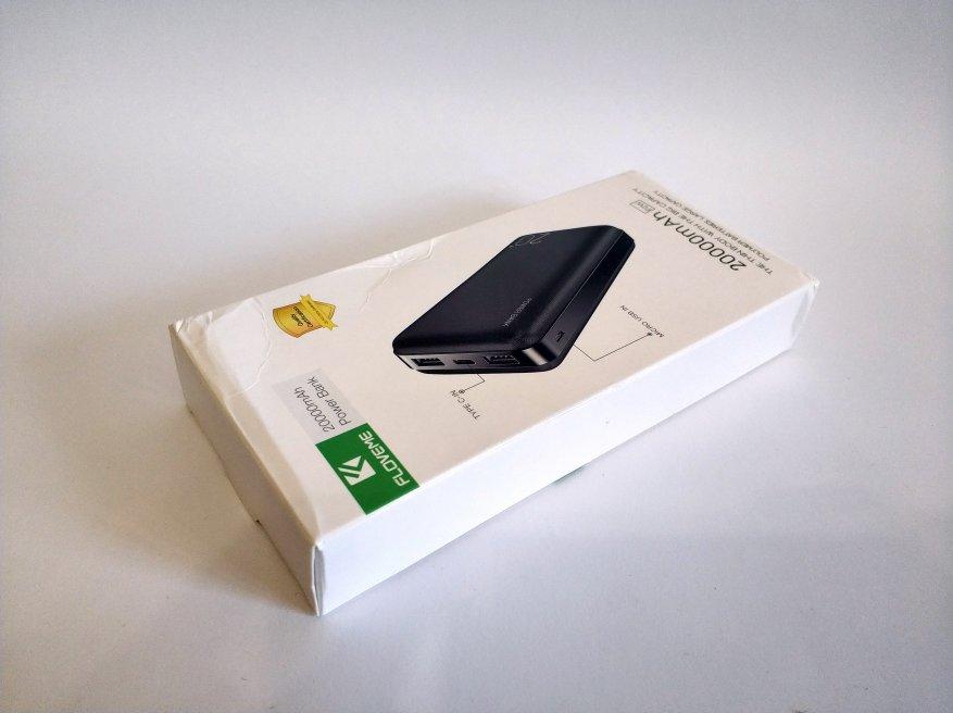 Floveme Portable Power Bank 20000 mAh Batería 1
