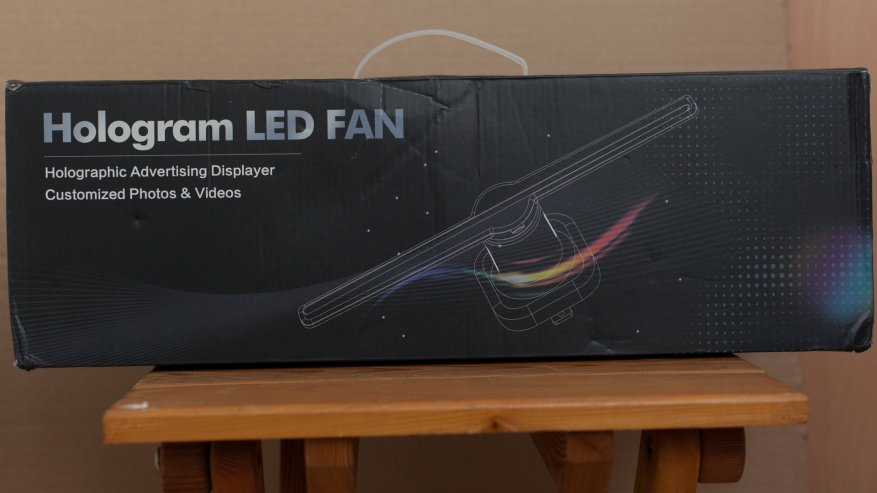 Review: Utorch FY3D - Z1 Holographic Display LED Fan