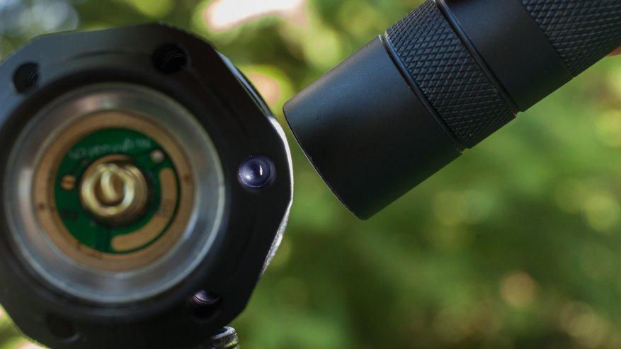مصباح يدوي قوي بعيد المدى Nightwatch NI40 Stalker: SST40 LED وبطارية 26650 23