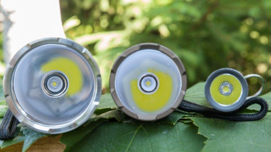 مصباح يدوي قوي بعيد المدى Nightwatch NI40 Stalker: SST40 LED وبطارية 26650 8