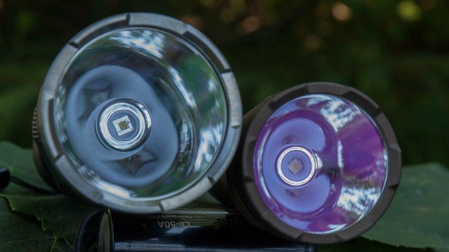 مصباح يدوي قوي بعيد المدى Nightwatch NI40 Stalker: SST40 LED وبطارية 26650 26