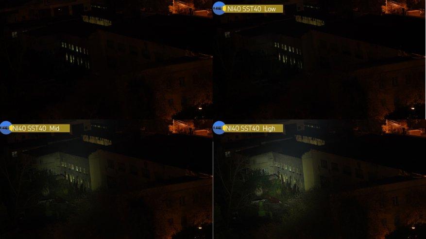 مصباح يدوي قوي بعيد المدى Nightwatch NI40 Stalker: SST40 LED وبطارية 26650 47