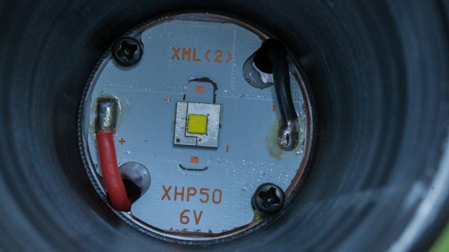مصباح يدوي قوي بعيد المدى Nightwatch NI40 Stalker: SST40 LED وبطارية 26650 35