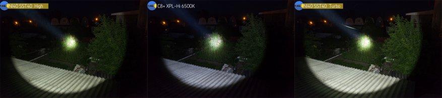 مصباح يدوي قوي بعيد المدى Nightwatch NI40 Stalker: SST40 LED وبطارية 26650 40