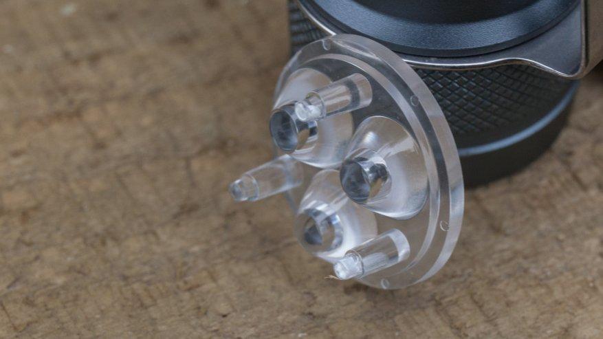 مراجعة مقارنة للمصابيح الساطعة Lumintop FW21 و Lumintop FW1A و Lumintop FW3A 32