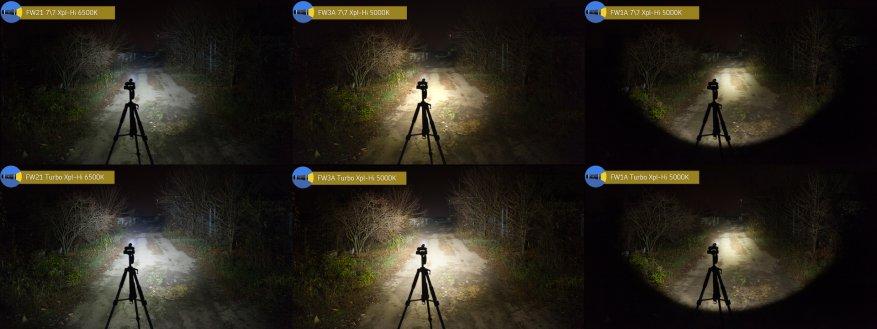 مراجعة مقارنة للمصابيح الساطعة Lumintop FW21 و Lumintop FW1A و Lumintop FW3A 61