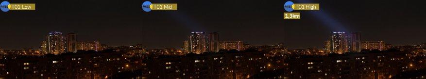 مصباح يدوي طويل المدى Speras T1: وعد 1300 م. 44
