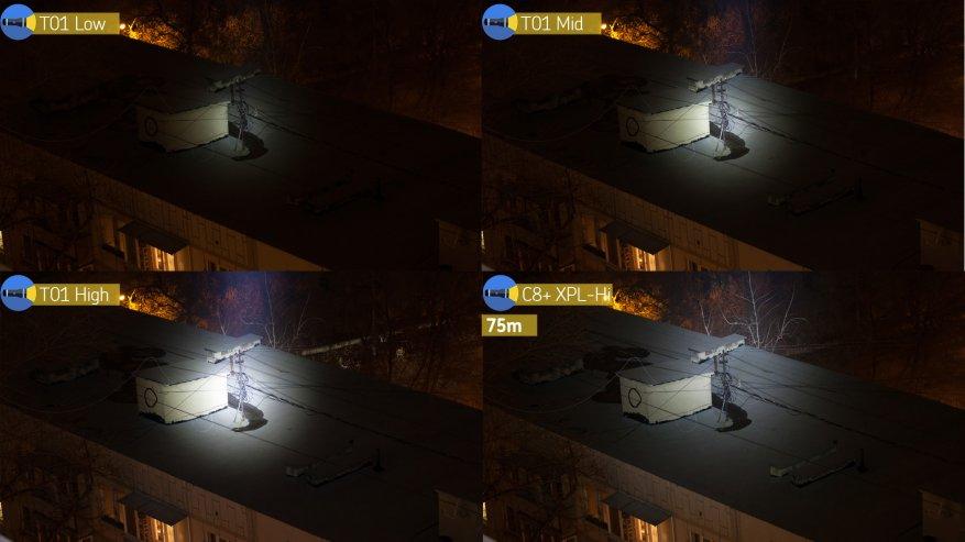 مصباح يدوي طويل المدى Speras T1: وعد 1300 م. 40