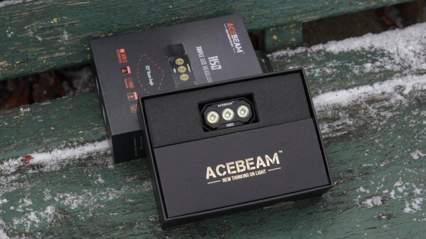Acebeam H50: مصباح أمامي ساطع مدمج به ثلاثة مصابيح LED 2