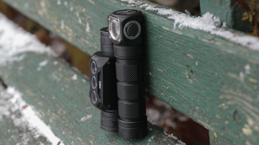 Acebeam H50: مصباح أمامي ساطع مدمج به ثلاثة مصابيح LED 9